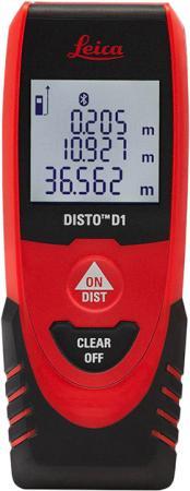 Дальномер лазерный Leica DISTO D1 дальность 40м точность ± 2 мм лазерный дальномер leica disto x310 790656