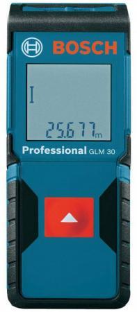 Дальномер Bosch GLM 30 30 м 601072500 дальномер bosch plr 50 c 50 м 603672220