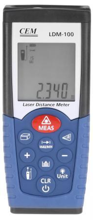 Дальномер Cem LDM-100 50 м дальномер cem ldm 80h