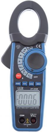 Клещи CEM DT-3348 электроизмерительные ваттметр стоимость