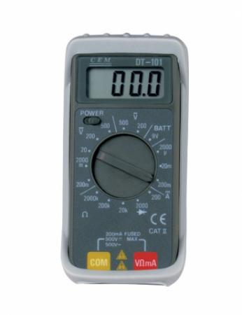 Мультиметр CEM DT-101 цифровой компактный