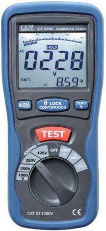 Тестер изоляции CEM DT-5505 цифровой все цены