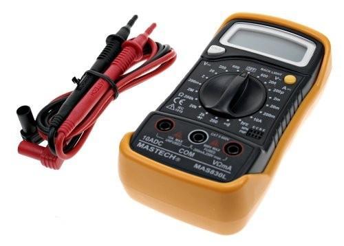 Мультиметр IEK Master MAS830L цифровой мультиметр iek master mas838l tmd 3l 838