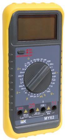 Мультиметр IEK Professional MY61 цифровой мультиметр мастер professional m369a