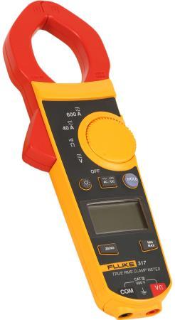 Клещи FLUKE 317 цифровая 600мА черный, желтый, красный 0,384кг цена и фото