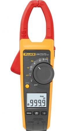 Клещи FLUKE 376 цифровая 1000мА красный, желтый, черный 0,388кг цена и фото