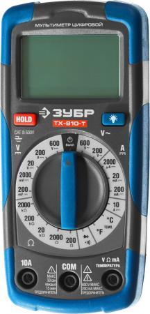 Мультиметр ЗУБР 59810 тх-810-т цифровой