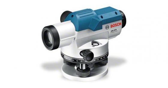 Нивелир оптический BOSCH GOL 26 D (0.601.068.002) комплект штатив рейка + bt 160 + gr 500 kit штатив bosch bt 150 0 601 096 b00