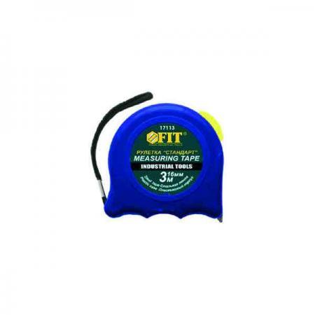 Рулетка Fit Стандарт 3мx16мм 17113 рулетка fit профи 10мx25мм 17430