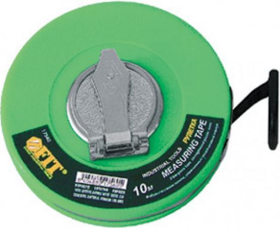 Рулетка FIT 17560 фиброглассовая лента зеленая 10м рулетка fit 17005