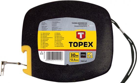 Лента мерная TOPEX 28C413 стальная 30м мерная лента стальная 50м biber 40205 тов 049310