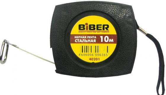 Лента мерная BIBER 40202 стальная 20м мерная лента стальная 50м biber 40205 тов 049310