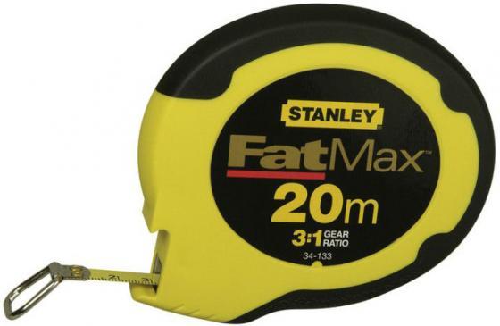 Рулетка Stanley FatMax 20мx10мм 0-34-133 рулетка stanley fatmax 30мx9 5мм 0 34 132