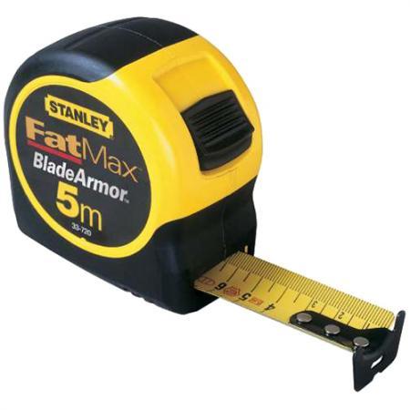 Рулетка Stanley Fatmax 5мx32мм 0-33-720 рулетка stanley fatmax 30мx9 5мм 0 34 132