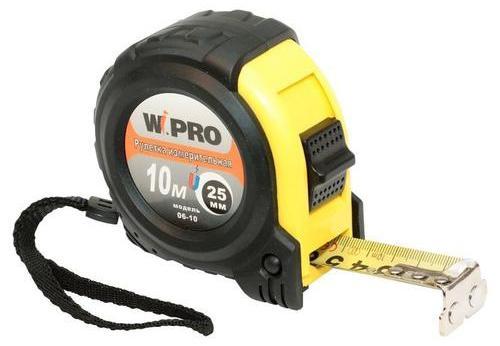 Рулетка WIPRO 06-10 10мx25мм прививочный нож wipro 07 001