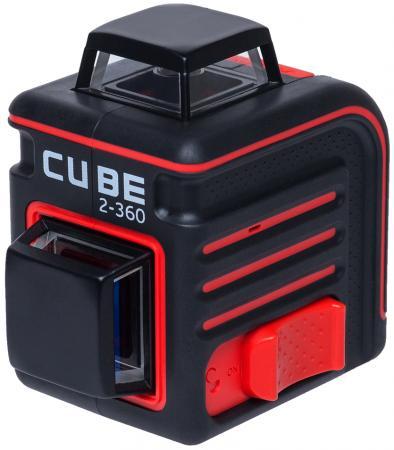Уровень лазерный ADA Cube 2-360 Basic Edition 20(70)м ±3/10мм/м ±4° лазер2 цифровой уровень ada prodigit 30