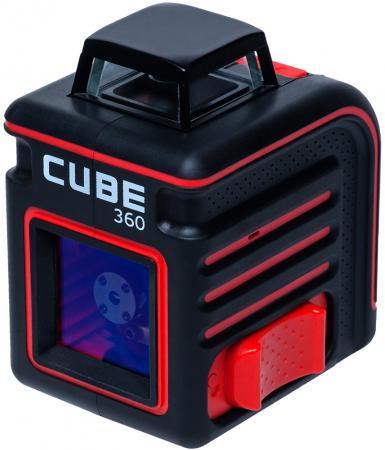 Уровень лазерный ADA Cube 360 Basic Edition 20(70)м ±3/10мм/м ±4° лазер2 цифровой уровень ada prodigit 30