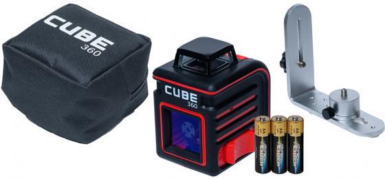Уровень лазерный ADA Cube 360 Home Edition 20(70)м ±3/10мм/м ±4° лазер2 уровень ada titan 2000 а00390