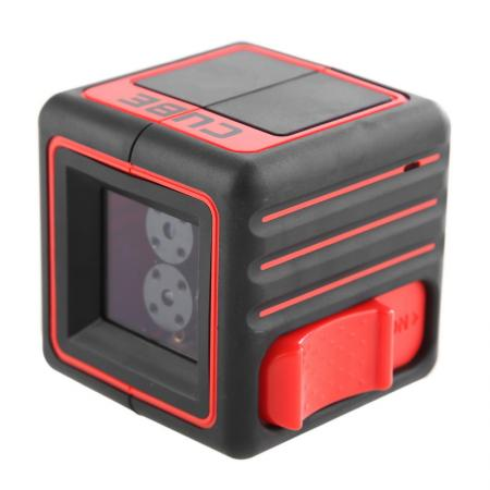Нивелир лазерный ADA Cube Basic Edition линия ±0.2 мм/м нивелир лазерный ada cube ultimate edition линия ±0 2 мм м кейс очки штатив универс крепл