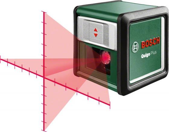 Уровень BOSCH Quigo Plus 0603663600 (0.603.663.600) лазерный нивелир 7м 0.8мм/м лазерный нивелир bosch quigo ii [0603663220]