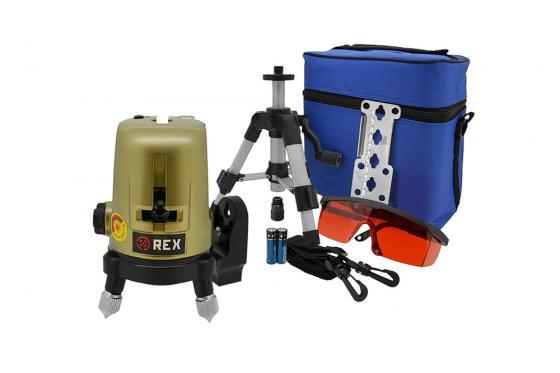Уровень лазерный REDTRACE REX START  линейный крест/6линий  ±3 мм/10 м  30м +магнит штатив очки (Redtrace) Кугеси все инструменты купить