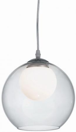 Подвесной светильник Ideal Lux Nemo Clear SP1 D20 ideal lux подвесной светильник ideal lux discovery fade sp1 d20