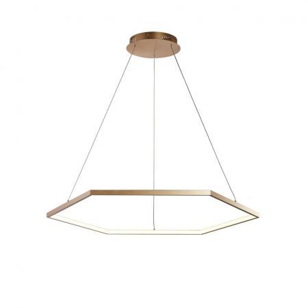 Подвесной светодиодный светильник Favourite Hexagon 2103-8P подвесной светильник favourite leo 1727 8p
