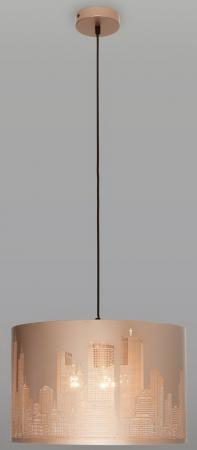 Подвесной светильник Eurosvet City 50066/3 золотой