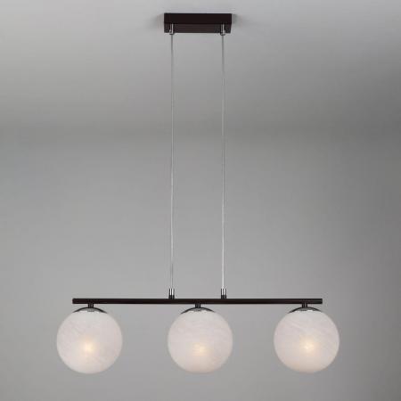 Подвесной светильник Eurosvet Globe 70069/3 хром/черный