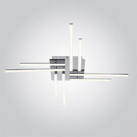 Потолочный светодиодный светильник Eurosvet Vector 90040/8 хром vector hx300