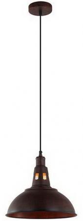 Подвесной светильник Eurosvet 50052/1 патинированный черный