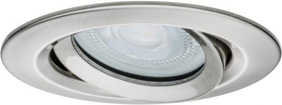 Встраиваемый светодиодный светильник Paulmann Nova 92899 встраиваемый светодиодный светильник paulmann nova 92902