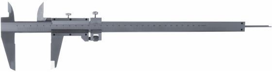 Штангенциркуль MATRIX 316345 300 мм цена деления 0.02 мм металлический с глубиномером штангенциркуль stayer 150мм двусторонний с глубиномером нержавеющая сталь 3442 z01