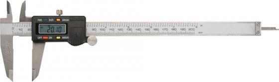 Штангенциркуль TOPEX 31C625 цифровой 200мм штангенциркуль kromatech 100mm цифровой
