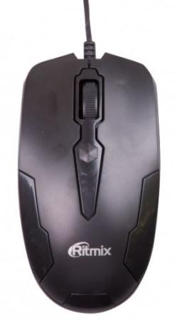 Мышь проводная Ritmix ROM-210 чёрный USB ritmix rom 340 antistress black мышь
