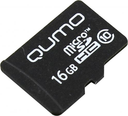 Купить Карта памяти Micro SDHC 16Gb class 10 QUMO QM16GMICSDHC10NA