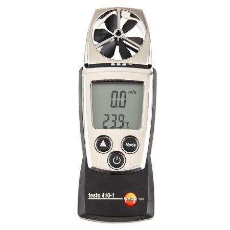 Анемометр с крыльчаткой TESTO 410-1 Функция HOLD от -10 до +50 °C ±0.5 °C термогигрометр стик testo 605 h1