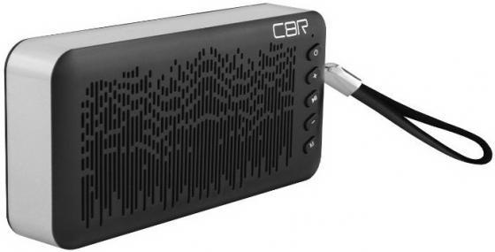 Портативная акустика CBR CMS 144Bt черный/серебристый
