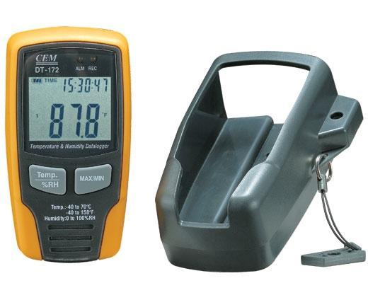 Регистратор температуры и влажности CEM DT-172 до 32700 значений зонд для бороскопа 1 м cem bt 4 5 1м