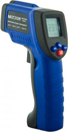 Пирометр (термодетектор) МЕГЕОН 16551 бесконтактный пирометр термодетектор elitech п 350 пирометр от 50 до 380град 9в батарея лазер жк дисплей 0 15к