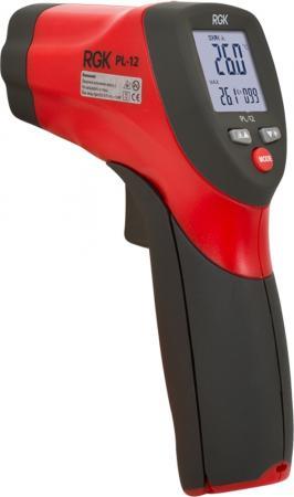 Пирометр (термодетектор) RGK PL-12 -50°C+550°C излучательная способность0.1~1.0 точность±1.0%. штатив rgk sjw30