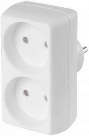 Сетевой разветвитель BURO BU-PS2-W 2 2 розетки сетевой разветвитель buro bu ps3tg w белый