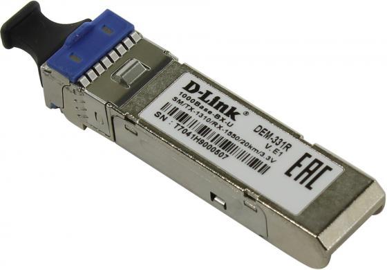 все цены на Трансивер сетевой D-Link DEM-331R/20KM/DD/E1A онлайн