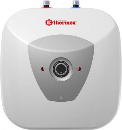 Водонагреватель накопительный электрический THERMEX H 15 U pro вертикальный, под раковиной, 1.5 кВ электрический накопительный водонагреватель general hydraulic santarini star over 15 литров над раковиной 5150100151