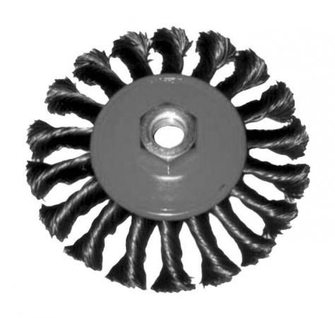 Кордщетка FIT 39101 колесо 100мм витая кордщетка fit 38525