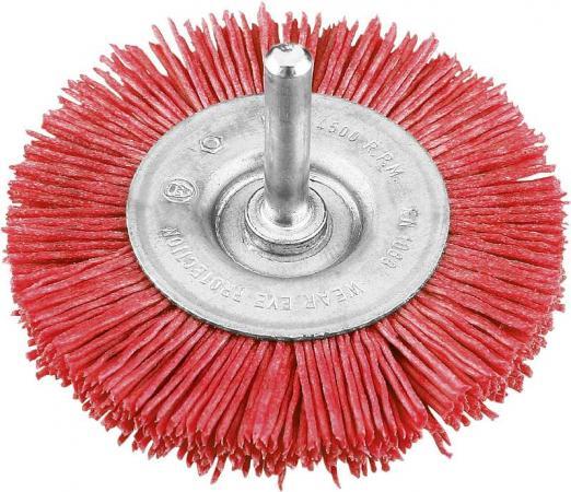 Кордщетка KWB 6043-30 щетка плоская нейлон. 75мм груб. бур kwb 2446 44