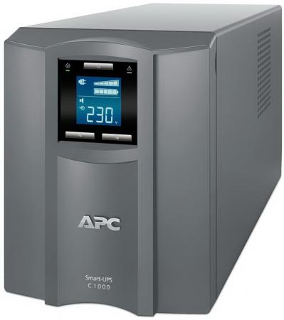 ИБП APC Smart-UPS C SMC1000I-RS 600Вт 1000ВА серый uninterruptible power supply apc smart ups c smc1000i home improvement electrical equipment