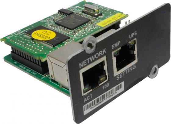 Модуль Ippon NMC SNMP II card Innova G2 для ИБП Ippon Innova G2 1001414 модуль ippon nmc snmp card 687872 innova rt smart winner new