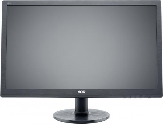 Монитор 22 AOC Professional E2260swdan(00/01) черный TN 1920x1080 200 cd/m^2 5 ms DVI VGA Аудио монитор 23 6 aoc e2475pwj 01 черный tn 1920x1080 250 cd m^2 2 ms dvi hdmi vga аудио