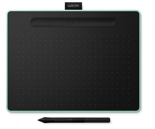 Графический планшет Wacom Intuos M Bluetooth CTL-6100WLE-N Bluetooth/USB фисташковый